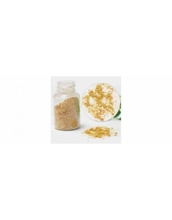 Poudre d'or pur 24 carats 100mg