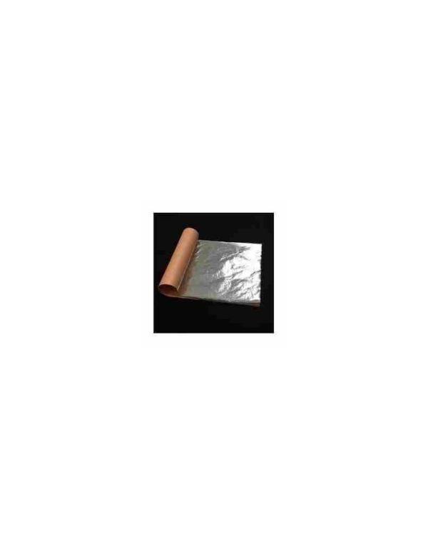 Feuilles d'argent pur 110 mm x 110 mm (10/25/100 feuilles)